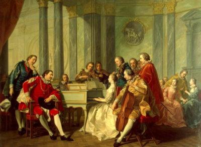 Harmonija u doba baroka