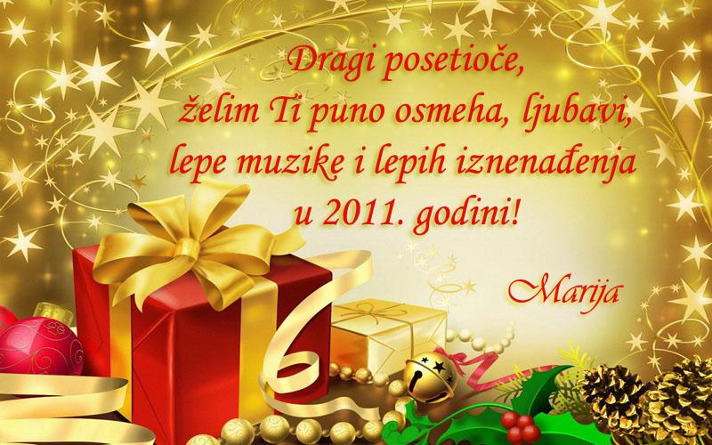 čestitke za novu godinu tekstovi Srećna nova! – Moj svet muzike čestitke za novu godinu tekstovi